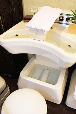 従来のゲルマニウム温浴機